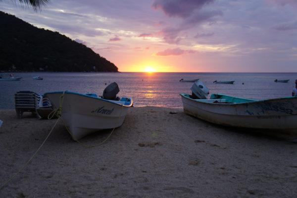 atardecer playas yelapa mexico