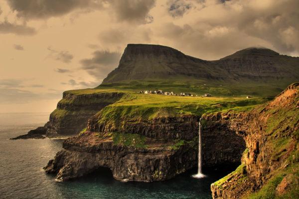 Gasadalur islas feroe