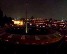 Qué fue la gran bola de fuego de Puebla