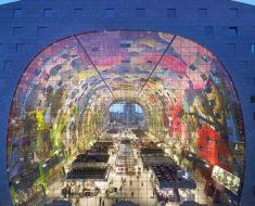 El Mercado Markthal en Rotterdam, Holanda