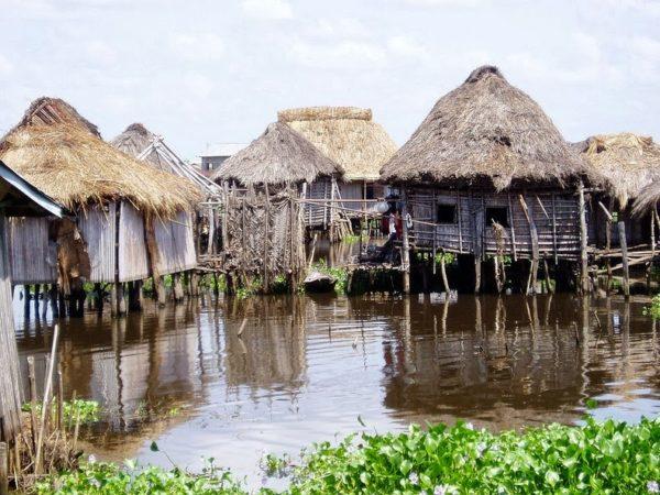 pueblo ganvie lago nokoue