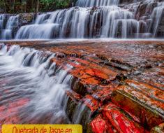La maravillosa Quebrada de Jaspe en la Gran Sabana de Venezuela