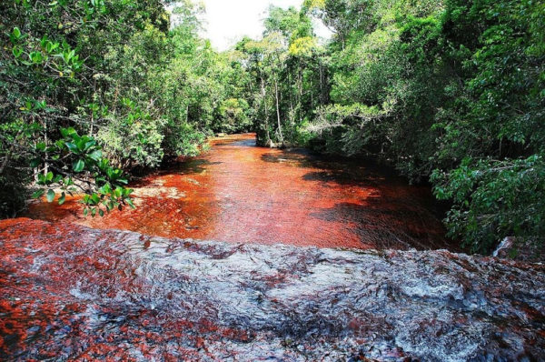 quebrada de jaspe en la gran sabana venezuela
