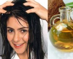 Remedio natural con aceite de coco para las canas y evitar la pérdida de cabello