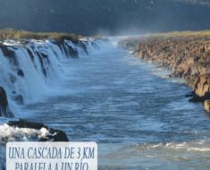 Saltos del Moconá : Una cascada de 3 km paralela a un río