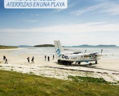 El único aeropuerto del mundo en el que aterrizas en una playa