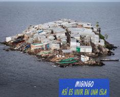 La diminuta isla de pescadores de Migingo en África