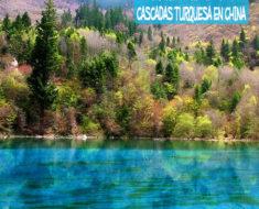 Jiuzhaigou, un valle de cascadas y lagos turquesa en China