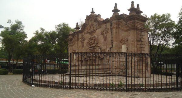 fuente mas antigua de ciudad de mexico