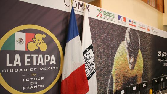 Este año, el Tour de France se celebra en la Ciudad de México