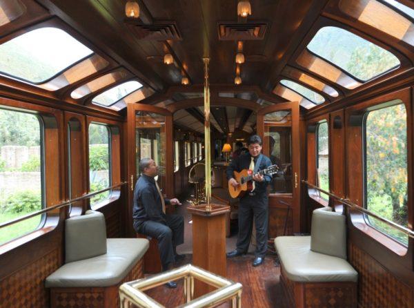 Tren Belmond Hiram Bingham Peru