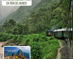 Viajando en tren de lujo hasta el Machu Picchu con el Hiram Bingham