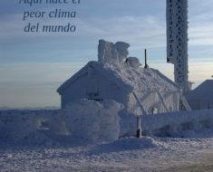 Mount Washington, hogar del peor clima del mundo