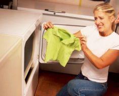 Consejos para desencoger tu ropa
