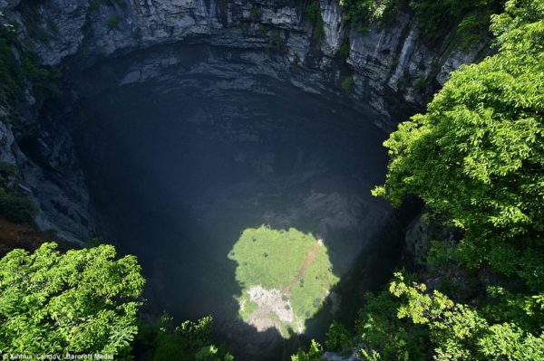 cueva sanyou hubei china