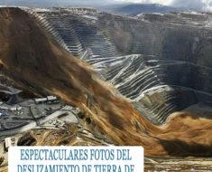 El increíble deslizamiento de tierras de la mina de cobre del Cañón de Bingham