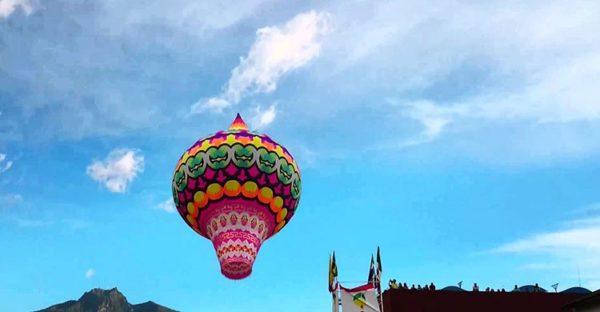 Festival Internacional de Globos de Cantoya de Pátzcuaro México