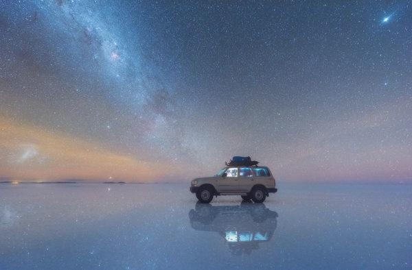 fotos via lactea desiertos de sal en bolivia