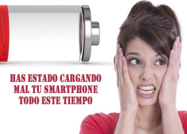 Has estado cargando mal tu smartphone todo este tiempo