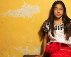 niña mexicana más bonita es de Chiapas y de la etnia Zoque