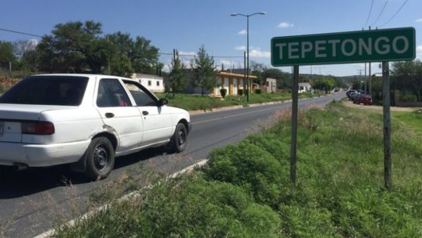 unico policia pueblo mexico tepetongo