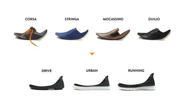 zapatos modulares shooz