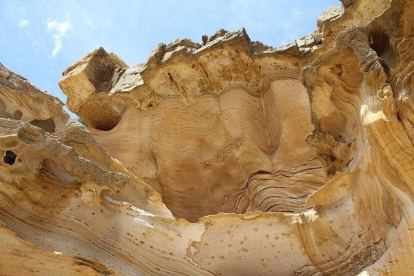 acantilados pintados maria island australia