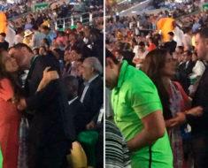 Mientras los deportistas olímpicos no ganan, Alfredo Castillo pasea a su novia con dinero del pueblo
