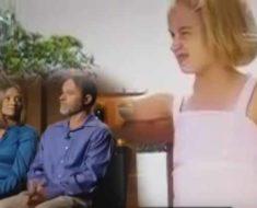 Ellos se quedaron impactados al saber de la historia de la niña que habían adoptado