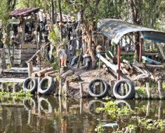 isla de las muñecas en Xochimilco mexico