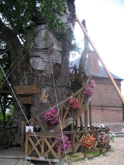 la capilla de roble allouville