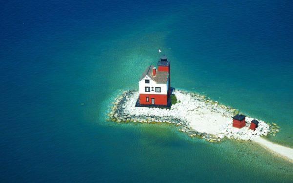 La Isla Mackinac en el estado de Míchigan