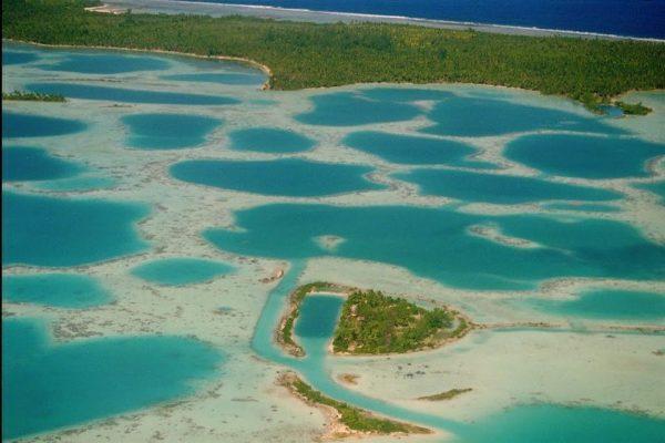 La Laguna reticulada del atolón de Mataiva