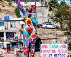 la mona Casa Mujer Monumental de Tijuana, Baja California