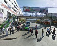 Habrá multa o cárcel para los peatones que provoquen un accidente vial por no usar puentes peatonales