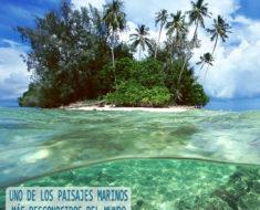 El cementerio marino del lago Truk en Micronesia