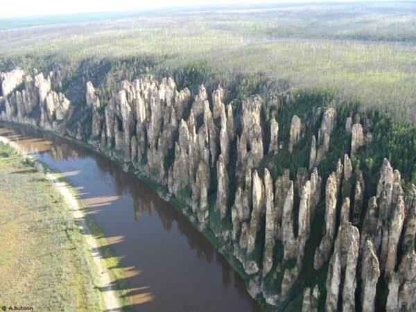 El impresionante bosque de piedras de Lena
