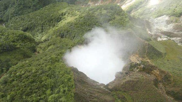 el lago hirviente de Dominica
