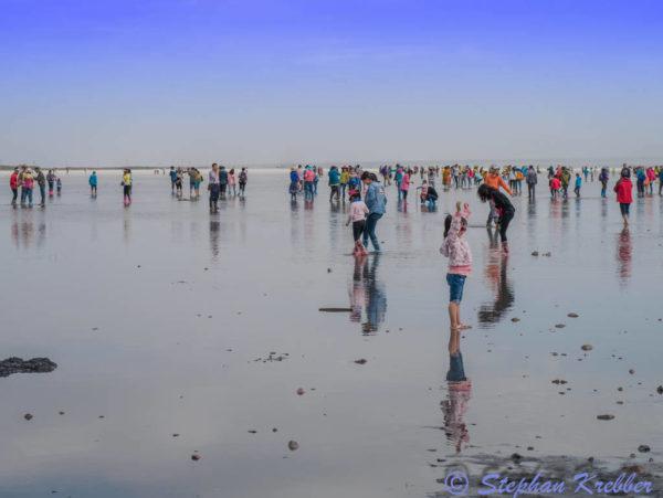 El Lago Salado de Chaka. Un espejo del cielo en China