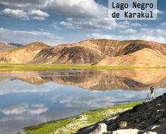 El místico Lago Negro de Karakul