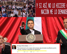 """Peña Nieto no quiere renunciar solo por una """"minoría inconforme"""""""