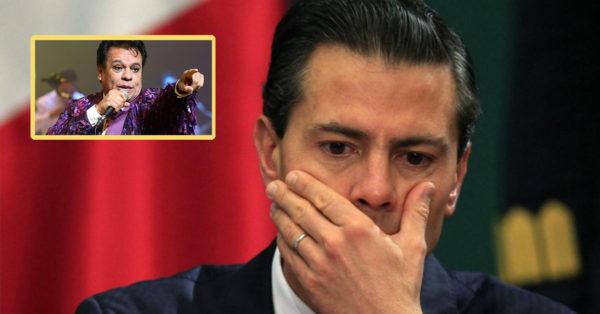 Juan Gabriel envió una carta a Peña antes de morir. Hará llorar a todo el país