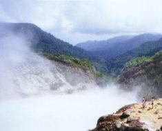 Conoce el lago hirviente de Dominica