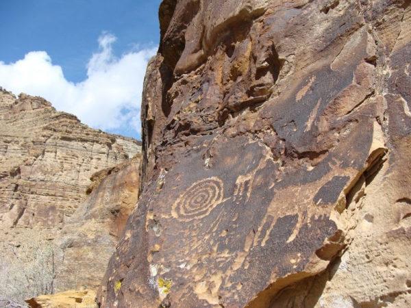 Nine Mile Canyon, la galería de arte más larga del mundo