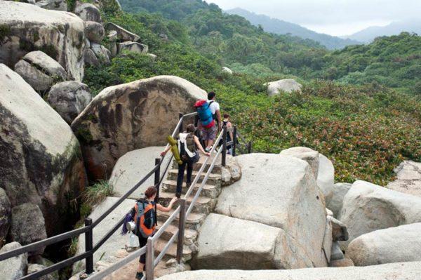 parque nacional tayrona colombia