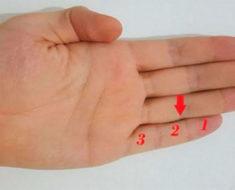 ¿Sabías lo que significan estas tres partes del dedo meñique?