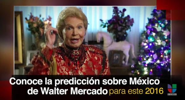 Terrible predicción de Walter Mercado asegura que los mexicanos sufrirán mucho este año