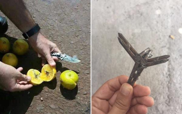 Advierten de un nuevo tipo de asalto en las carreteras ¡con frutas y clavos!