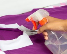 Con este aerosol casero, nunca más necesitarás planchar para quitar las arrugas de tu ropa