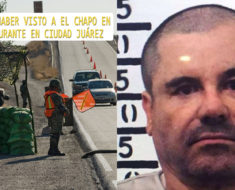 Aseguran haber visto a El Chapo cenando en un restaurante de Ciudad Juárez